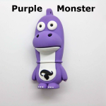 Purple Monster Custom USB drive